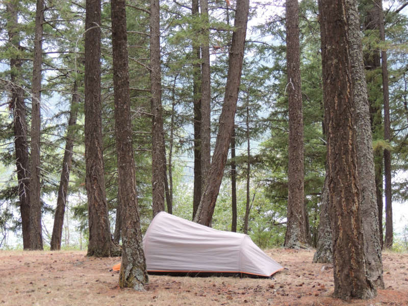 Camping for free in Canada