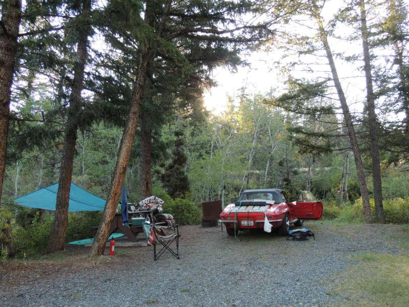 Free campsites in Canada