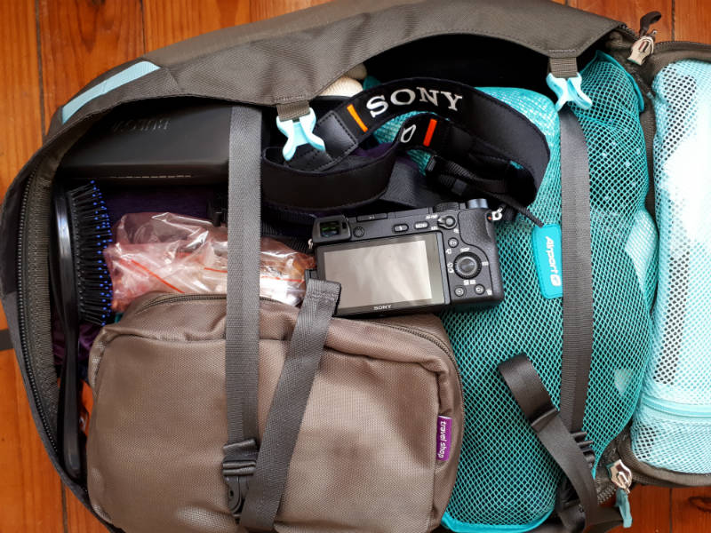 Travel light with carry-on how to pack clothes