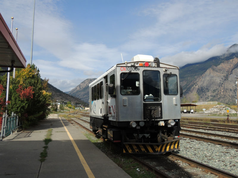The Kaohan Shuttle Train Lillooet BC