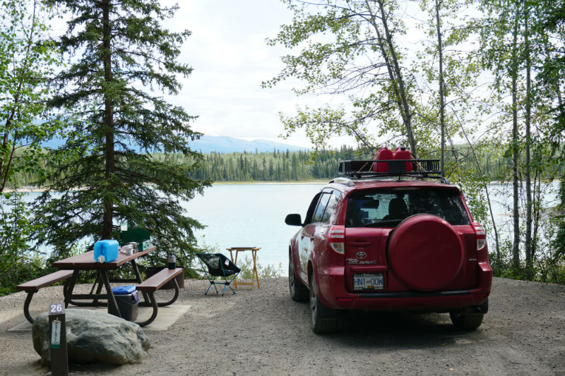 My Toyota RAV4 camper conversion