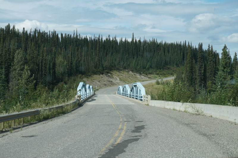 Frances River bridge, Campbell Highway, Yukon