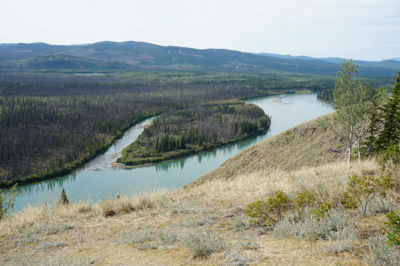 View Eagle Nest Bluff Yukon