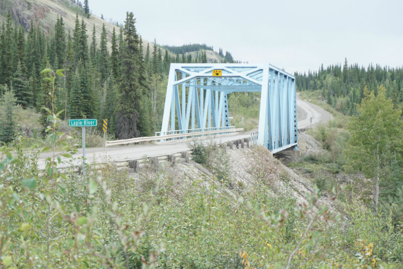 Lapie River Bridge, Campbell Highway, Yukon