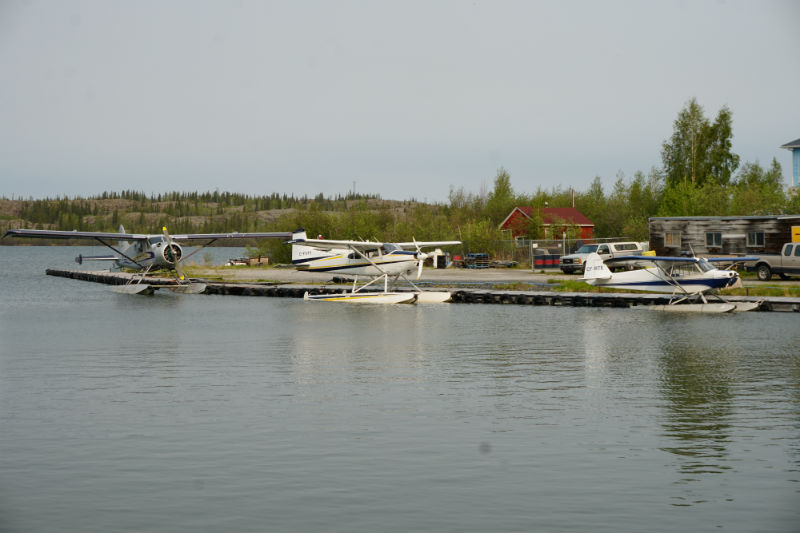 Yellowknife NWT old town