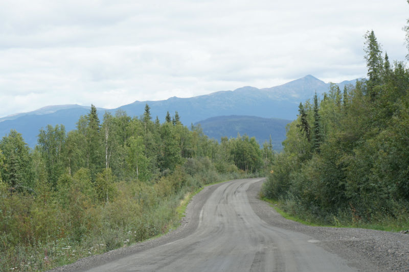Silver Trail to Keno City, Yukon, Canada