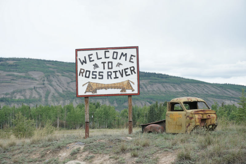 Welcome to Ross River on the Campbell Highway