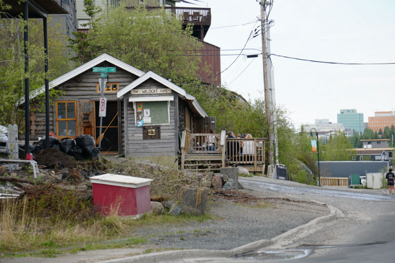 Historic Wildcat Cafe Yellowknife NWT