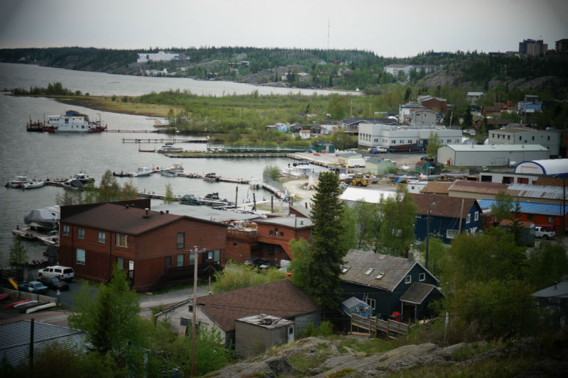 View from Pilots Monument Yellowknife