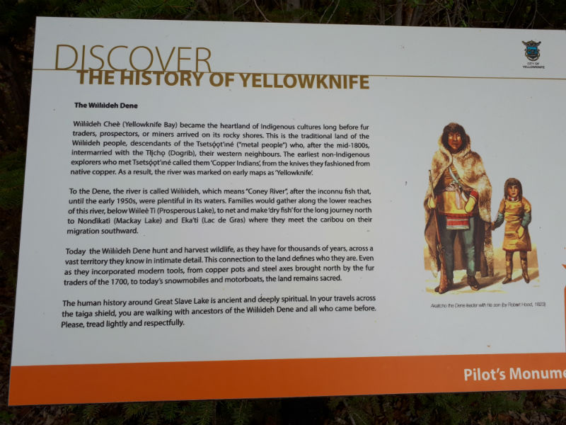 Discover the history of Yellowknife