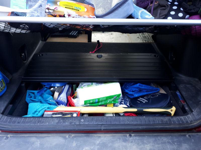 Toyota RAV4 Cellar Storage