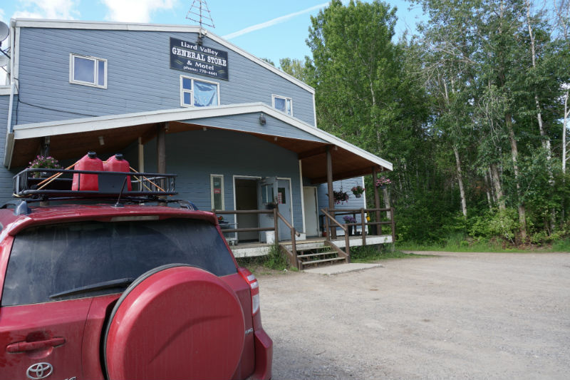 Fort Liard NWT General Store