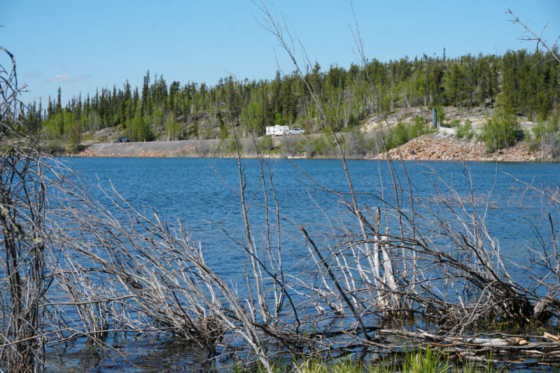 Dozens of lakes dotted along the Ingraham Trail