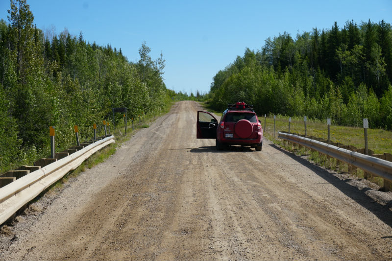 Photo stop Liard Highway NWT