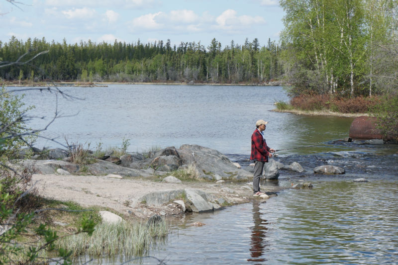 Tibbitt Lake, the end of the Ingraham Trail Route NWT