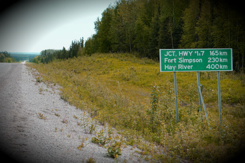 Checkpoint Intersection, NWT, Heritage Route