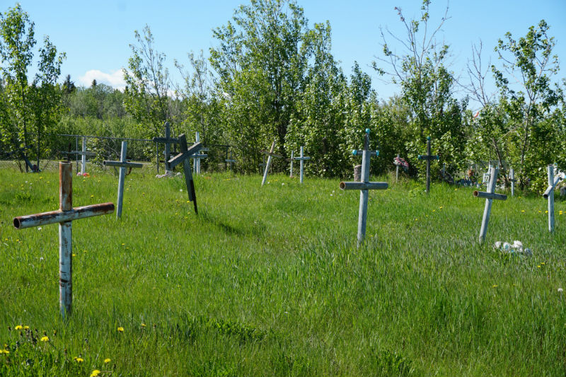 Fort Simpson NWT Cemetery