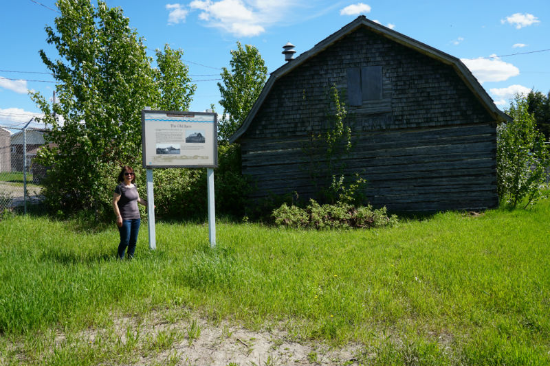 Fort Simpson walking tour, Old Barn Heritage Trail