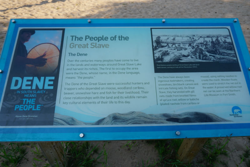 The people of the Great Slave NWT