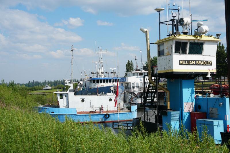 The old shipyard Hay River NWT