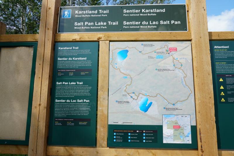 Hiking Wood Buffalo National Park