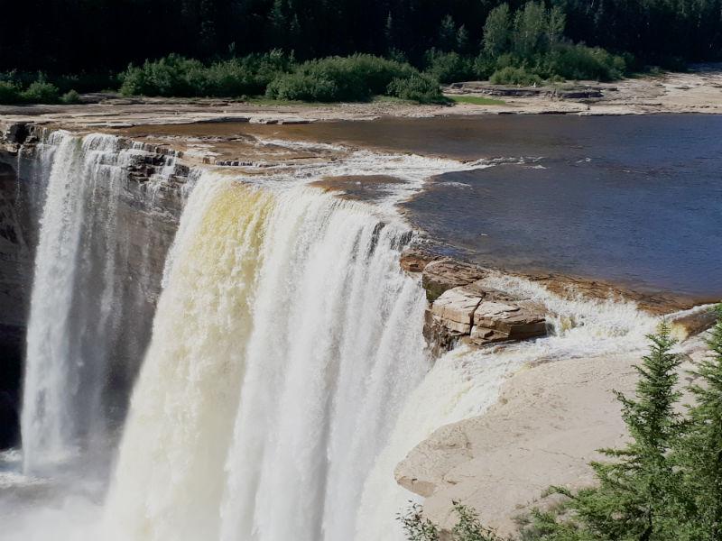 Alexander Falls, Twin Falls Gorge Provincial Park NWT