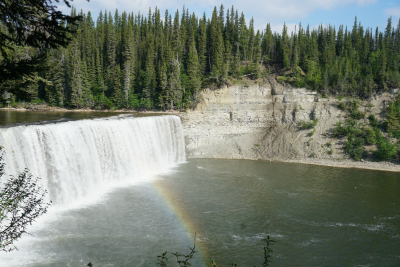 Lady Evelyn Falls NWT, Waterfalls Route