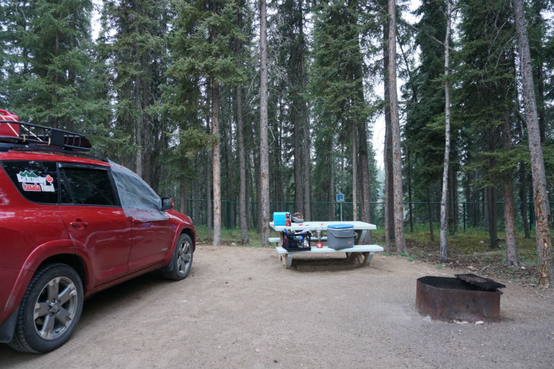 Territorial Campground, Waterfalls Route
