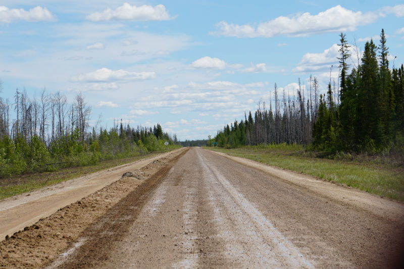 Road Maintenance Highway 1 NWT