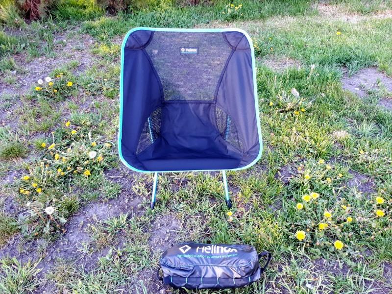 My Helinox camp chair