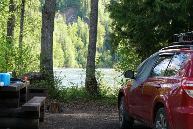 Keep the bugs out road trip planner