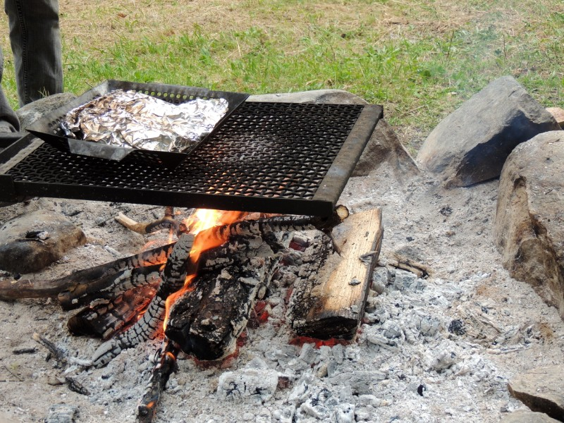 Fire starting skills are essential for a road trip
