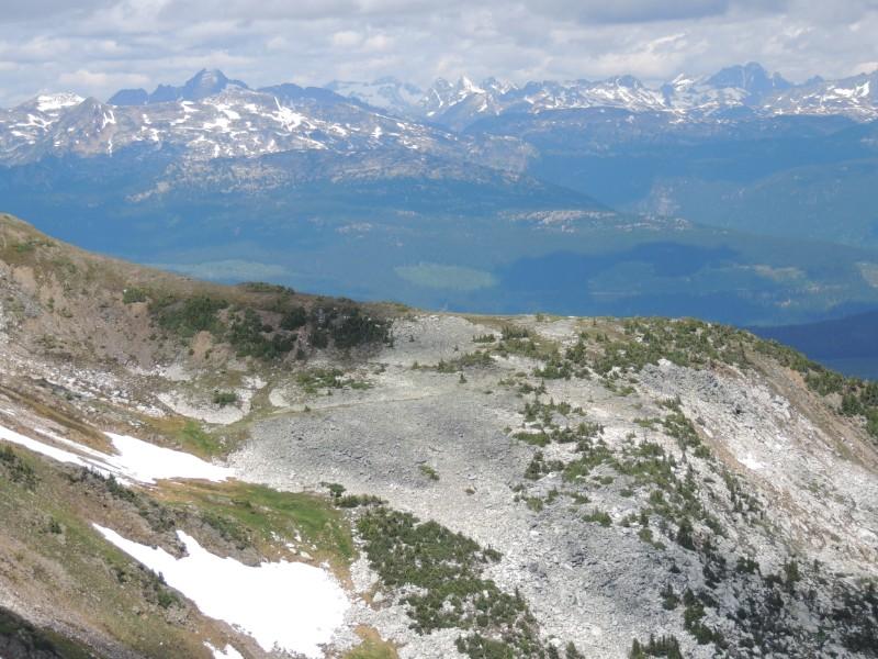 mountain views Canada road trip