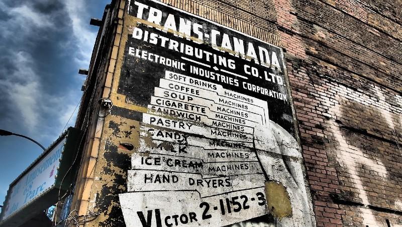 Trans Canada sign
