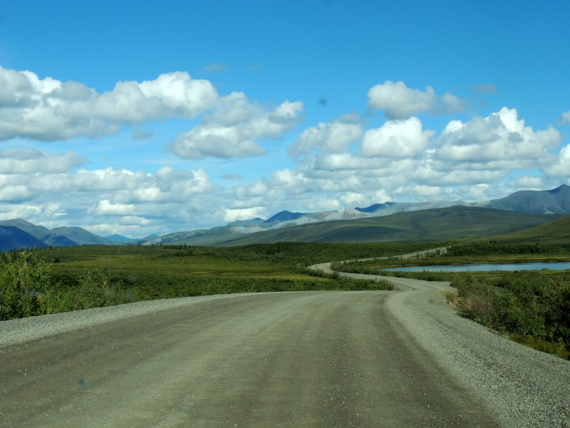 Yukons iconic highway - Dempster Highway