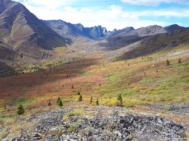 multi day hike Yukon Canada